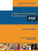 Food Marketing Report 20121221