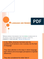 language and gender revision