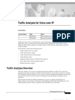 Traffic Analysis For VoIP