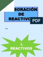 3. ELABORAR REACTIVOS