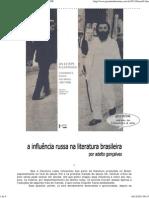 Gonçalves - A influência russa na literatura brasileira
