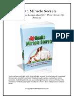 Health Miracle Secrets