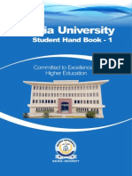 Student Hand Book2013