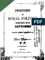AROSEMENA, Justo. Principios de moral política. 1849