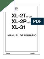 Xl2t Manual de Usuario