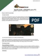 Guia Trucoteca Dragon Age Origins Pc