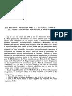 Arquíloco - Nuevo frag.  atribuido según Bellido