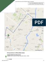 Sangwan Model Secondary School to Rithala Metro Station - Google Maps
