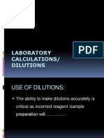 Dilution s