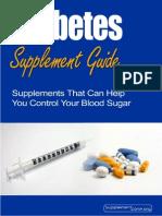 Diabetes Supplement Guide