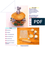 Mouse Burger - Salt Dough