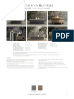 Restoration Hardware - Fire_gel Fire Tables Etc