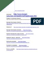 Adrese Web Tratamente Naturiste