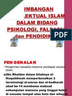 SUMBANGAN INTELEKTUAL ISLAM DALAM PSIKOLOGI, FALSAFAH DAN PENDIDIKAN