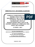 Youblisher.com-684967-Directiva n 011 2013 x Olimpiada Nacional Escolar de Matematica