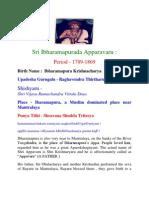 Sri Ibharamapurada Apparavaru