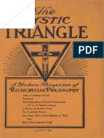 AMORC - The Mystic Triangle, August 1926