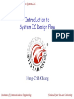 WCDMA-01-Introduction to System IC Design Flow