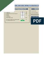(4)C.B Tripping Setting & Motor Data (10.10.13)