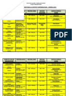 Clubs and Organizations - 2012-2013 - Spring 2013- Meeting Room and Location Chart-updated April 30 2013