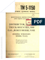 Tm 5-1150 DISTRIBUTOR WATER 1943