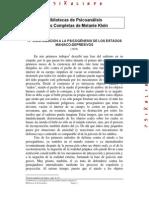 17- contribucion a la psicogénesis de los estados maniaco-depresivos 1935