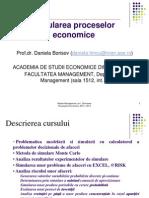 Curs 1 - simularea proceselor economice
