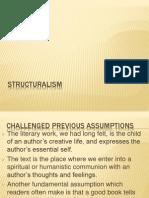Sel de on Structuralism