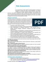 Risk Assessments - QEB Standards-19