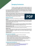 Managing Contractors - QBE Standards-20