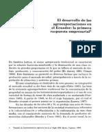 12. El Desarrollo de Las Agroexportaciones en El Ecuador... William F. Waters