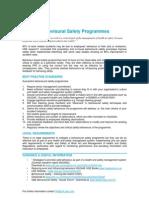 Behavioural Safety - QBE Standards-16