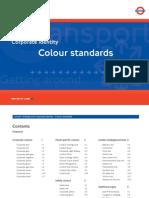 London Underground Color Standards
