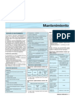Manual de Megane II - Mantenimiento