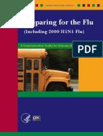 Información del CDC para las escuelas en relación a la gripe