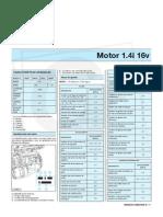 Manual de Megane II - Motor 1.4i 16v