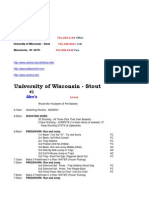 Wisconsin-Stout Run and Jump Sample Practice