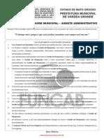 M06 V - Agente de Saúde Municipal - Agente Administrativo