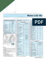 Manual de Megane II - Motor 2.0i 16v