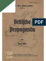 Baehr Hans-Britische Propaganda (1940,91 S.)