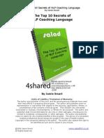 Jamie Smart - The Top 10 Secrets of NLP Coaching Language