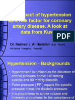 Hypertension and Coronary Artery Diseases