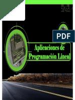 Aplicaciones Programacion Lineal