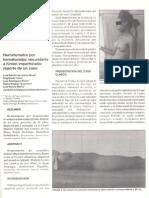 Hematometra Por Hematocolpo Secundario a Himen Imperforado