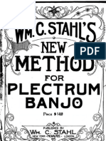 Stahl-Plectrum Banjo Method 1920