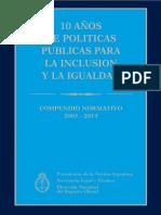 Politicas Publicas Para La Inclusion y La Igualdad