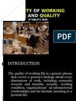 Quality of work life and Quality Circles