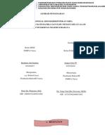 Proposal Kegiatan Pekan FMIPA
