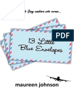 13 pequeños sobres azules - Maureen Johnson-WWW.FREELIBROS.COM