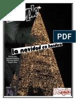 christmas magazine layout